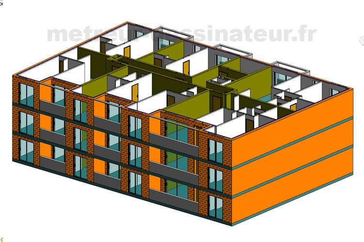 A1 Métré estimation étude de prix bâtiment Toulouse Haute-Garonne Midi-Pyrénées 31
