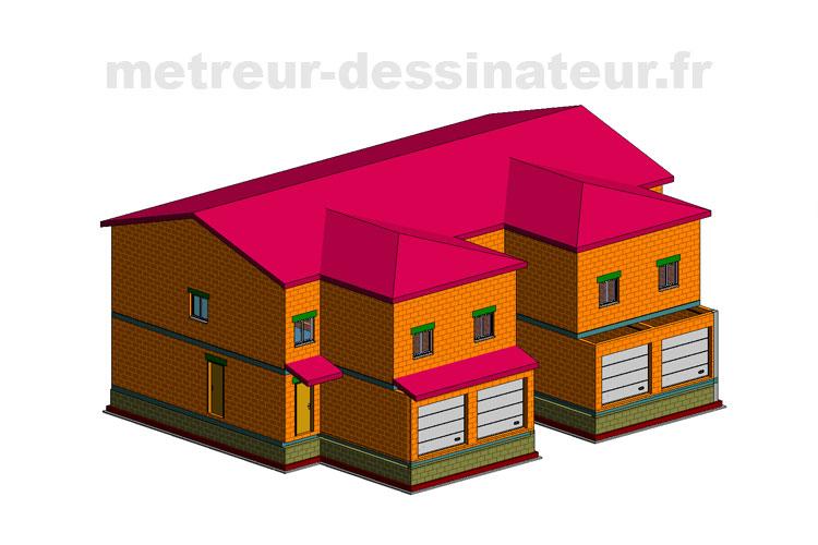 A2 Permis de construire étude de prix bâtiment collectif Toulouse Haute-Garonne Midi-Pyrénées 31