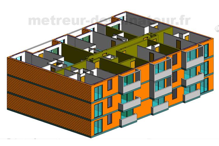 B1 Métré estimation étude de prix construction bâtiment Toulouse Haute-Garonne Midi-Pyrénées 31