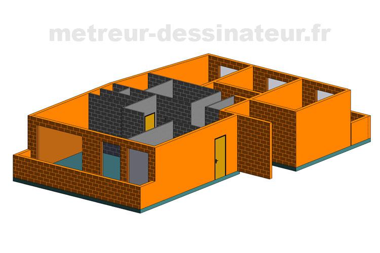 B1 Permis de construire étude de prix bâtiment Toulouse Haute-Garonne Midi-Pyrénées 31
