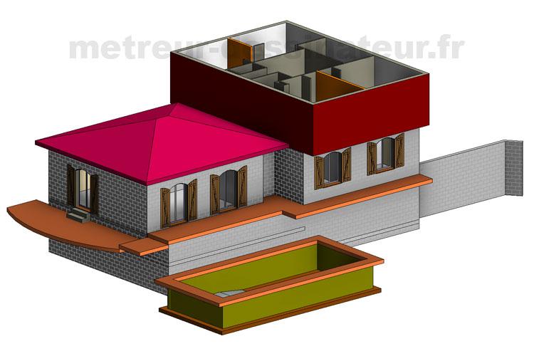 B2 Conception modélisation Rénovation maison individuelle Toulouse Haute-Garonne Midi-Pyrénées toulouse 31
