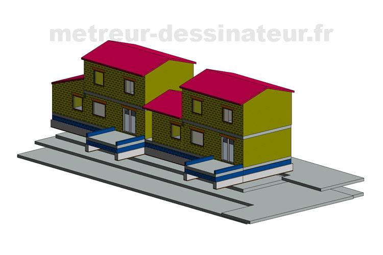 B2 Permis de construire construction rénovation maison individuelle Toulouse Haute-Garonne Midi-Pyrénées 31
