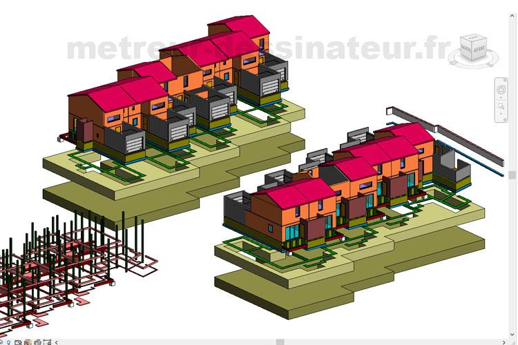 B3 Métré estimation étude de prix maison individuelle Toulouse Haute-Garonne Midi-Pyrénées 31