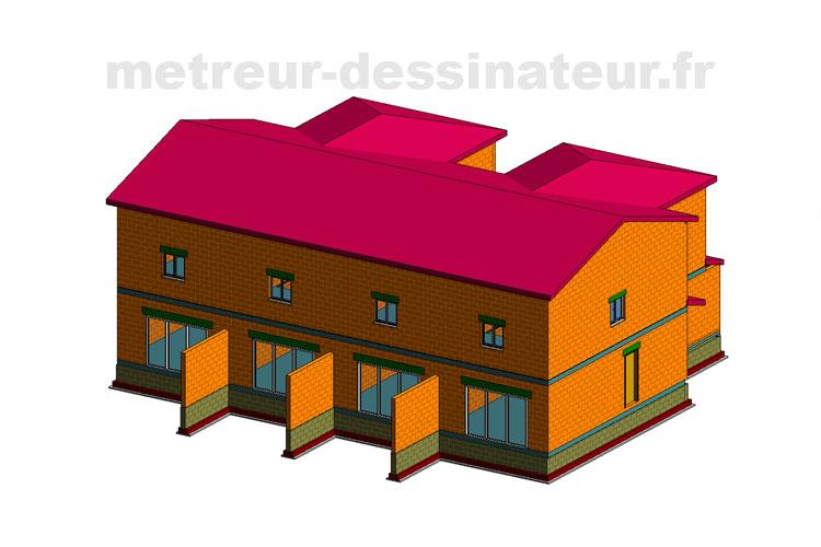 B3 Permis de construire construction rénovation bâtiment collectif Toulouse Haute-Garonne Midi-Pyrénées 31