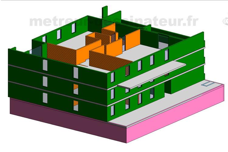 B5 Métré estimation étude de prix bâtiment tout coprs d état Toulouse Haute-Garonne Midi-Pyrénées 31