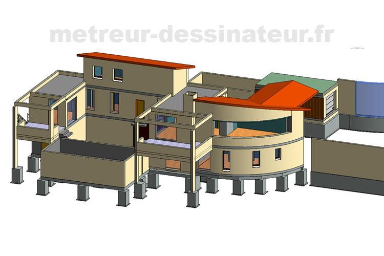 B6 Conception modélisation maison design Toulouse Haute-Garonne Midi-Pyrénées toulouse 31